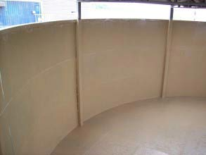 Long-term protection provided to tank walls using Belzona 5811 (Immersion Grade)